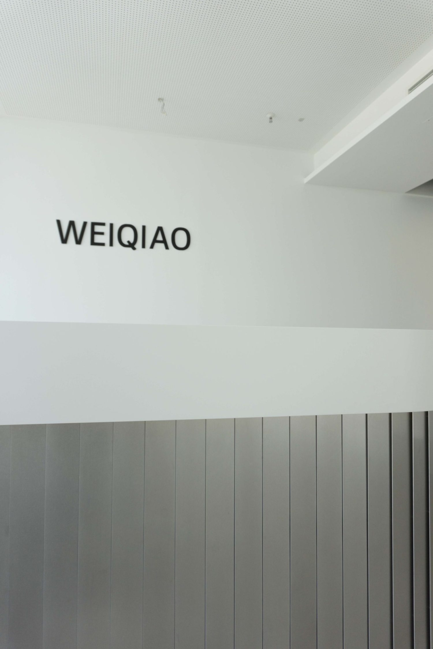 WEIQIAO_Empfang_Konture
